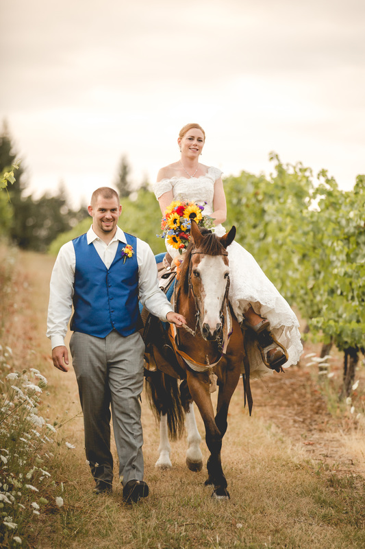 Oregon Winery Wedding at Sarver Winery by Photography by Lynn MariePicture