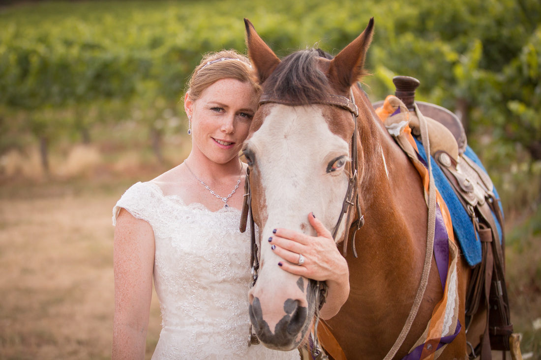 Oregon Winery Wedding at Sarver Winery by Photography by Lynn Marie