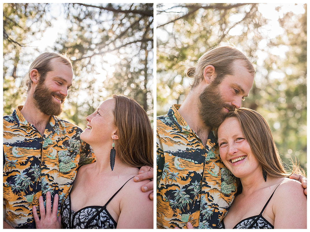 Engagement photos in Sunriver, Oregon