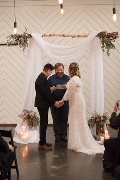 Wedding officiant services in Oregon by Zach Fish